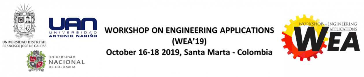 Workshop on Engineering Applications 2019 – WEA 2019